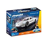 PLAYMOBIL: THE MOVIE Porsche Mission E y Rex Dasher, a Partir de 5 Años (70078)