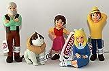 Comansi Juego de Juego Heidi - 5 Figuras Heidi Abuelo Peter Clara Josef Aproximadamente 5,5 - 9,0 cm