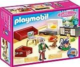 PLAYMOBIL PLAYMOBIL-70207 Dollhouse Salón, Multicolor, Talla única (70207)