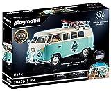 PLAYMOBIL 70826 Volkswagen T1 Camping Bus como furgoneta Surfera azul claro, Edición especial para aficionados y coleccionistas, 5 - 99 años