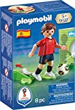 PLAYMOBIL- Jugador España Muñecos y Figuras, Multicolor, 4,5 x 14,2 x 9,3 cm (9517)