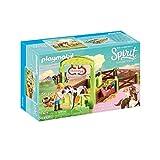 PLAYMOBIL DreamWorks Spirit Establo Abigaíl y Boomerang, a Partir de 4 Años (9480)