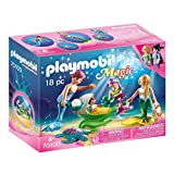 Playmobil 70100 Magic Familia con Conchas Cochecito, Multicolor