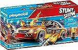 Playmobil - Stuntshow Juguete, Crashcar, Multicolor (70551)