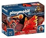 PLAYMOBIL - Novelmore Espíritu de Fuego Bandidos Burnham, para niños de 5 a 10 años de edad (70227)