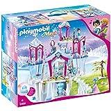 PLAYMOBIL Magic Palacio de Cristal con Cristal Luminoso, Incluye Ropa que Cambia de Color, A partir de 4 años (9469)