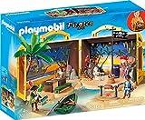 PLAYMOBIL- Pirates Figuras y Juegos de contrucción, Color carbón (70150)