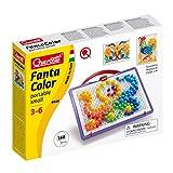 Quercetti Fantacolor 0920 - Juego de piezas para crear figuras (160 piezas) , color/modelo surtido