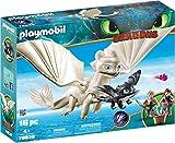 PLAYMOBIL DreamWorks Dragons Furia Diurna y Bebé Dragón con Niños, a Partir de 4 Años (70038)