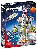 PLAYMOBIL Space 9488 Cohete con Plataforma de Lanzamiento, a partir de 6 Años