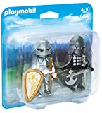 PLAYMOBIL Duo Pack- Knights' Rivalry Duo Pack Figura con Accesorios, Multicolor (6847)