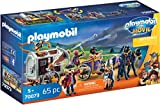 PLAYMOBIL: THE MOVIE Charlie con Carro Prisión, a Partir de 5 Años (70073)