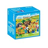 PLAYMOBIL Country Recinto Animales granj, Color carbón (70137)