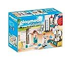 PLAYMOBIL City Life Baño, con Efectos de Luz, a Partir de 4 Años (9268)