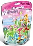 PLAYMOBIL Hadas - Princess Hada con Pegaso y Piscina Playsets de Figuras de jugete 5352