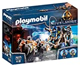 PLAYMOBIL Novelmore Equipo Lobo Novelmore, Para Niños de 5 a 10 Años de edad (70225)