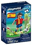 PLAYMOBIL-Jugador de fútbol, España (70482), color spain