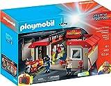 Playmobil 5663 Estación de Bomberos Maletín Portátil