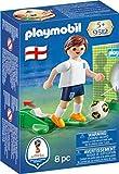 Playmobil Fútbol- Jugador Inglaterra Muñecos y Figuras, Multicolor, 4,5 x 14,2 x 9,3 cm (Playmobil 9512)
