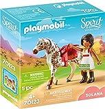 PLAYMOBIL- Solana con Caballo Juguete, Multicolor (geobra Brandstätter 70123)