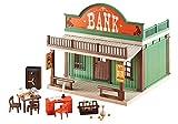 banque du far west playmobil 7838, vendu en sachet, sans boite