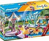 Playmobil - Family Fun Playset, Gran Parque de Atracciones, Multicolor (70558)