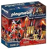 PLAYMOBIL - Novelmore Maestro de Fuego Bandidos Burnham, para niños de +8 años de edad (70228)