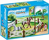 Playmobil-6931 Competición Doma, Color marrón/Blanco (6931)