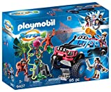 Playmobil-Monster Truck con Alex y Rock Brock Playset de figuras de juguete, multicolor, 12,5 x 38,5 x 28,4 cm 9407
