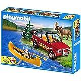 PLAYMOBIL 5898 Todoterreno con kayak y ranger