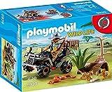 Playmobil Vida Salvaje- Explorador con Quad Playset de Figuras de Juguete, Multicolor, 7,2 x 14,2 x 18,7 cm (Playmobil 6939)