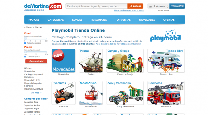comprar playmobil demartina