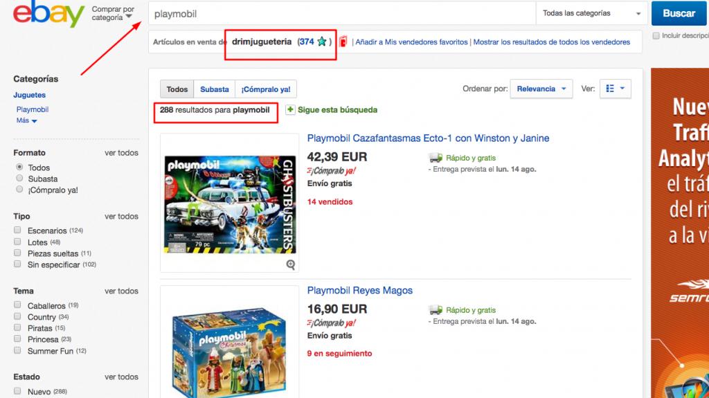 busqueda playmobil ebay
