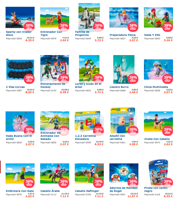 ofertas demartina playmobil