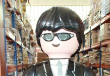 playmobil xxl agente exclusivo