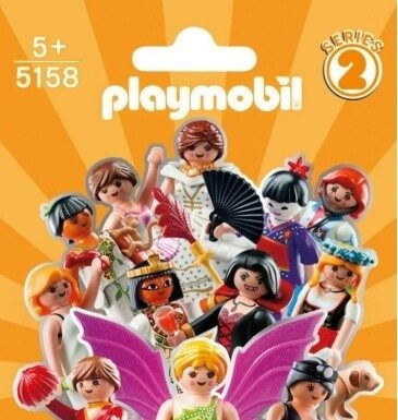 sobres sorpresa playmobil serie 2 chicas