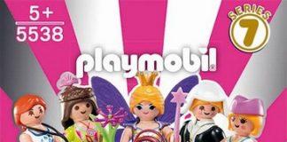 sobres playmobil serie 7 chicas