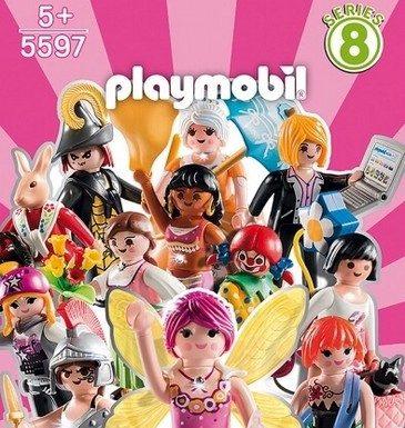 sobres playmobil serie 8 chicas