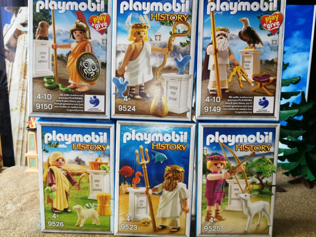 dioses olimpo playmobil