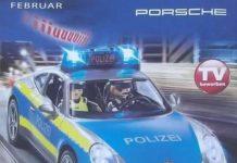 porsche policia 2019
