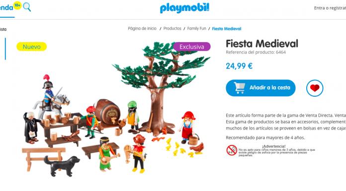 oferta playmobil reyes