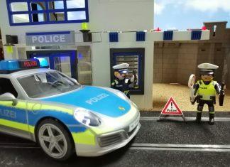 porsche policia playmobil