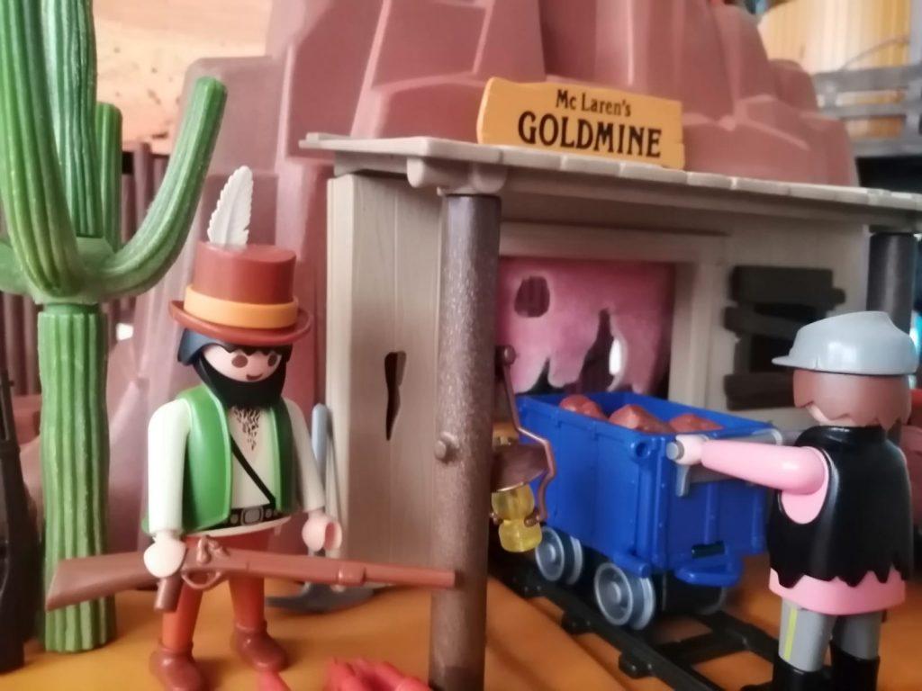 comprar mina antigua playmobil
