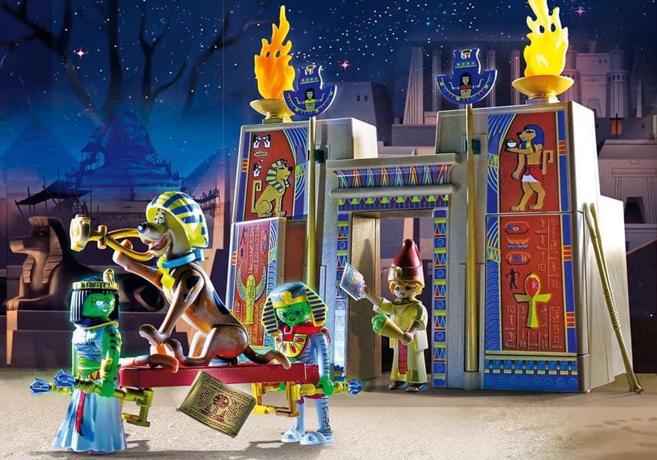 playmobil scooby doo egipto