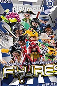 playmobil serie 17 niños