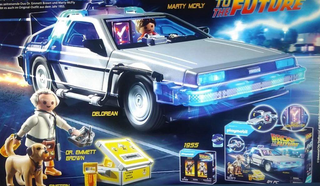 regreso al futuro playmobil 2020