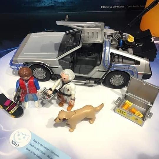 regreso al futuro sets playmobil 2020