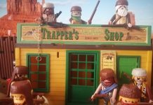 tramperos playmobil oeste