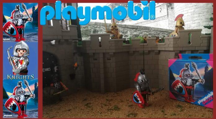 caballero del cisne playmobil