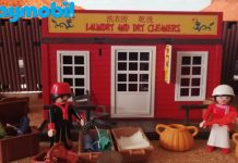 lavanderia playmobil custom